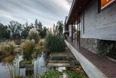 piscine naturelle - Corredor House par Chauriye Stäger Architects - Santiago, Chili