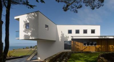 porte à faux - Jersey House par Hudson Architects - Normandie, France