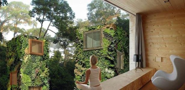 vid o les maisons dans les arbres urbaines de raimond de hullu construire tendance. Black Bedroom Furniture Sets. Home Design Ideas