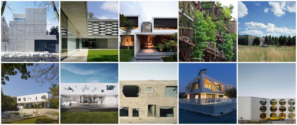 10 Maisons Contemporaines A La Facade Atypique Construire Tendance