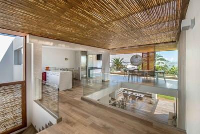séjour & cuisine - Panda House par DA-LAB Arquitectos - Playa Blanca, Pérou