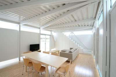 séjour & salon - Boundary House par Niji Architects - Tokyo, Japon