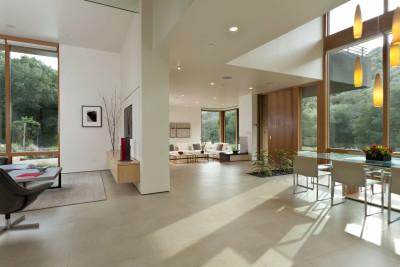séjour & salon - sinbad-creek par Swatt Miers Architects - Sunol, USA