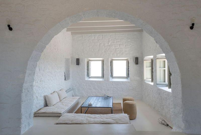 salon - Sterna Nisyros par  Giorgos Tsironis - Nisyros en Grèce