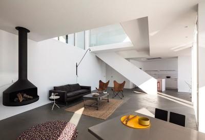 salon & séjour - Sunflower House par Cadaval & Solà-Morales - Gérone, Espagne