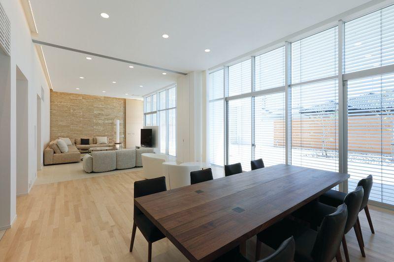 salon & séjour - ks-architects par ks-architects - Nagoya, Japon