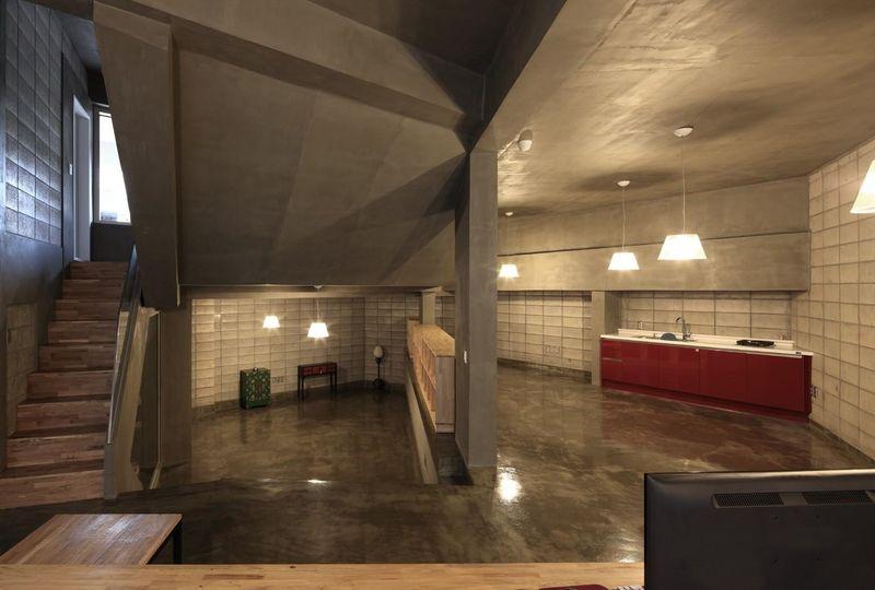 cuisine - Kyeong Dok Jai par Uroje Khm Architects - Corée du Sud