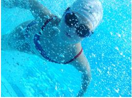 piscine enfant bulle
