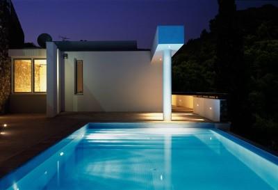 piscine - Villa-Studiorossi par Studiorossi Secco - Crevo, Italie