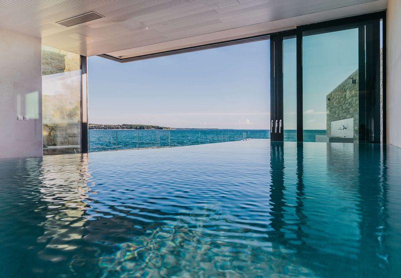 piscine intérieur - House Sperone par Studio Metrocubo - Novigrad, Croatie