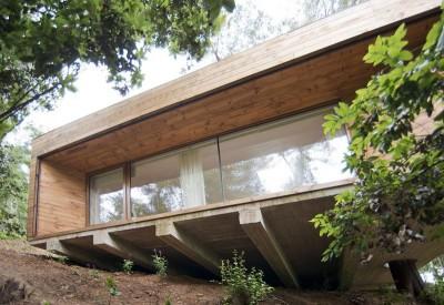porte à faux - RP-House par CMA Arquitectos - Vichuquen, Chili