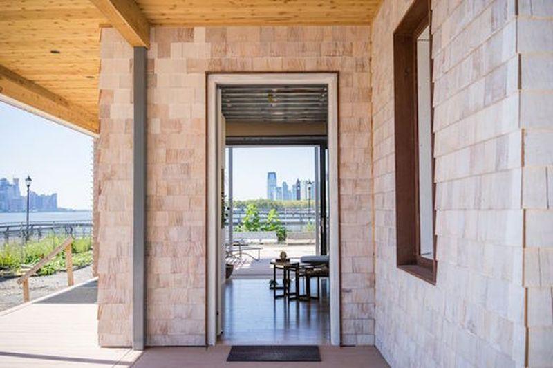 porte entrée - Sure house par Institut de Technologie de Stevens, Usa