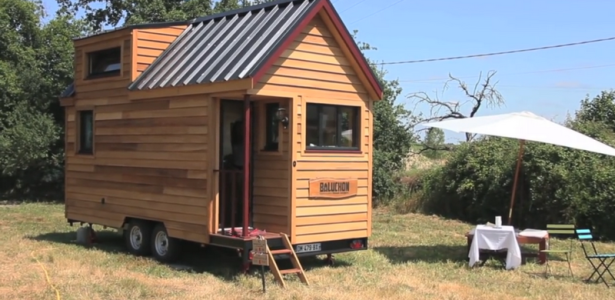 baluchon la tiny house la fran aise construire tendance. Black Bedroom Furniture Sets. Home Design Ideas