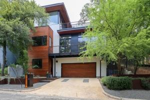 Maison r nov e construire tendance - Maison contemporaine dick clark architecture ...