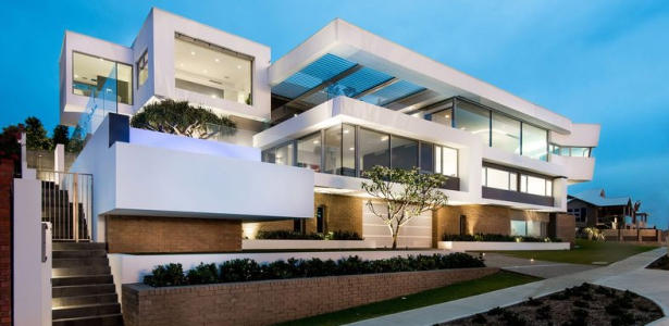 Splendide villa contemporaine bordant l oc an indien en for La casa stupefacente progetta l australia