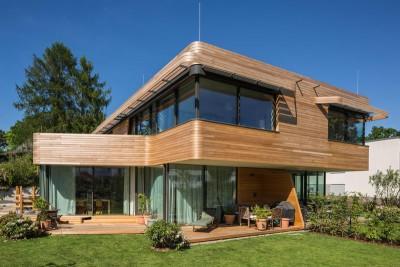 salon terrasse design - Holistic Living Healthy par Graft Architects - Allemagne