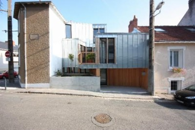 Maison BBàN à Nantes (44). Principaux intervenants : Onze04 Architectes, BTG (Sté Coopérative Ouvrière), Isolex Bois