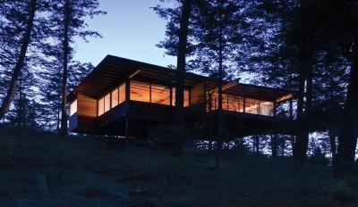 Une-Cabin-Flathead-Lake-par-Anderson-Wise-Architects