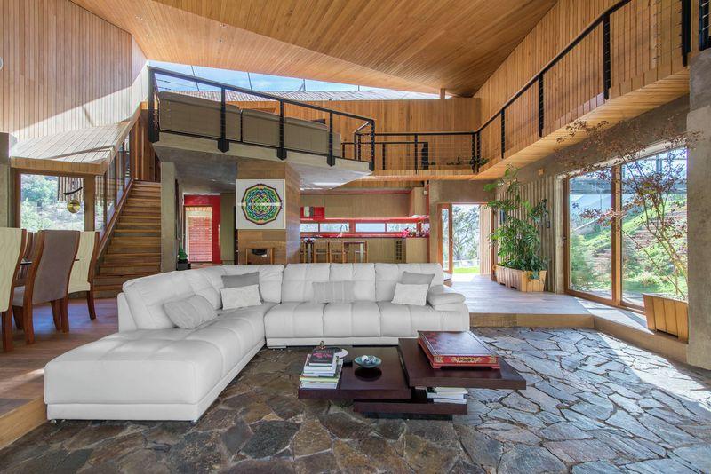 pièce de vie - El-Maqui-House par GITC arquitectura - Valparaison, Chili