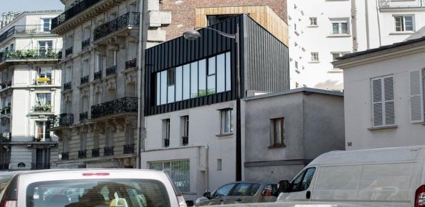 Extension d une maison urbaine de cinq niveaux sur paris for Maison moderne urbaine