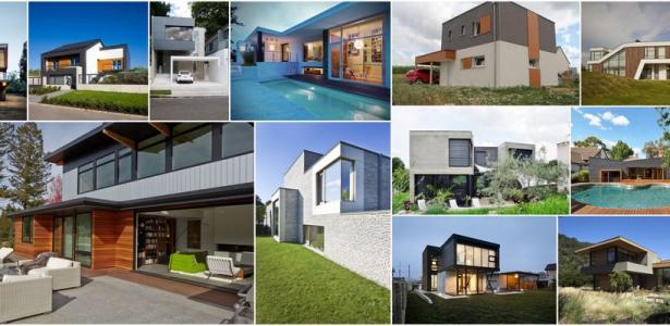 bi ton osez une touche de couleurs sur votre maison contemporaine construire tendance. Black Bedroom Furniture Sets. Home Design Ideas