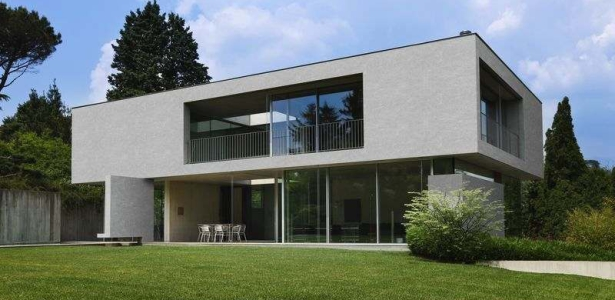 R nover pour une fa ade contemporaine et isol e avec uniso construire tendance - Renover facade de maison ...