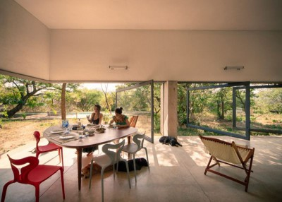 séjour - Casa-Meztitla par EDAA - Tepoztlan, Mexique