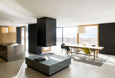 séjour - Structure-Slope par Bergmeister Wolf Architekten - Bozen, Italie