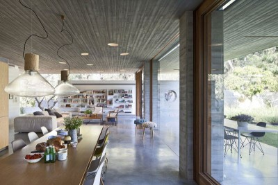 séjour & salon - House-for-Architect par Pitsou Kedem Architects - Ramat Hasharon, Israël