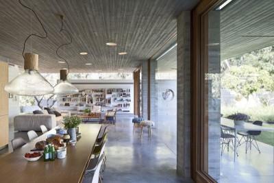 séjour & salon - House-for-Architect par Pitsou Kedem Architects - Ramat Hasharon, Israël