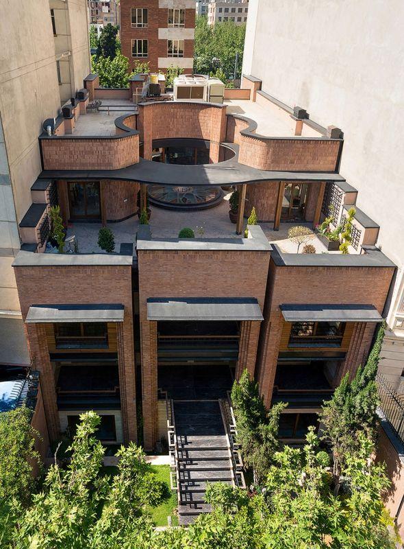 vue d'ensemble - Kaveh-House par Pargar Architecture and Design Studio - Téhéran, Iran