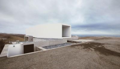maison contemporaine, maison béton contemporaine, éco-construction, Domenack arquitectos, Pérou