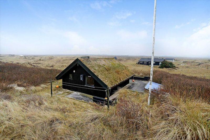 façade jardin & toiture végétalisée - Tiny-house par Tiny Sod Roofed - Côtes Nord, Danemark