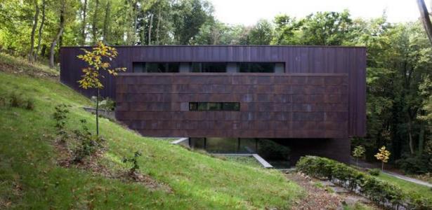 Vid o maison contemporaine belge en b ton construire for Constructeur maison belge
