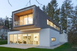 plan maison moderne suisse