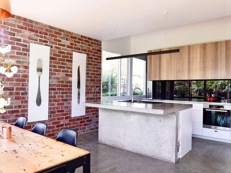 séjour & cuisine - Home Extension par Artechnic - Sandy Bay, Australie