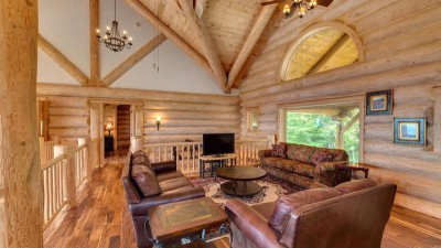 salon étage & coin TV - Mountain-Top-Manor - Blue Ridge, Georgie