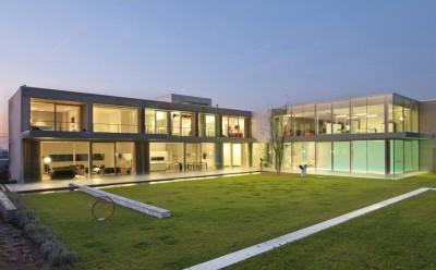 maison contemporaine par Luc Spits, Belgique