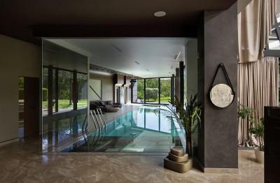 piscine intérieure - House-Kharkiv par Sbm studio - Kharkiv, Ukraine