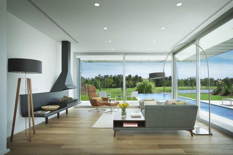 salon & cheminée design - Z-Balca-House par Lagula Arquitectes - Espagne