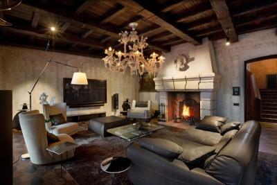 salon principale - Residence-BO par Baraban+design studio - Kiev, Ukraine
