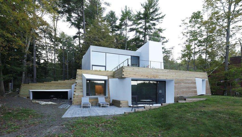 Bois béton et modernité pour cette maison contemporaine ...