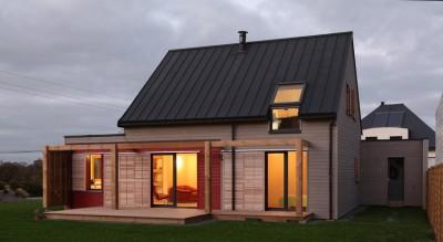 Maison bois béton par Patrice Bideau - Atypique - France