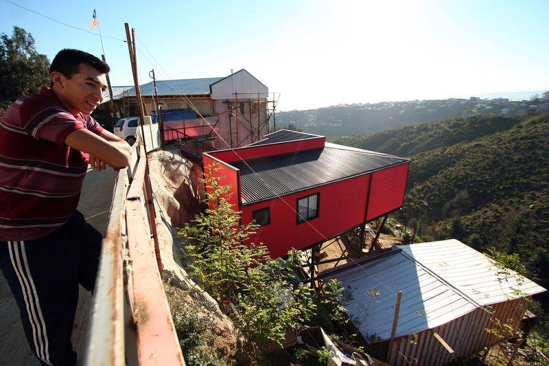 vue panoramique paysage - Suarez-House par Arq2g-arquitectura - Valparaíso, Chili