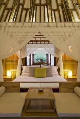 chambre principale illuminée - Bamboo-Villa par C&C-Design - Guangdong, Chine
