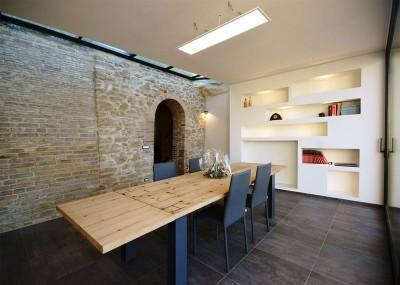 salle séjour - Recupero-casa par Rocco Valentini - Chieti, Italie