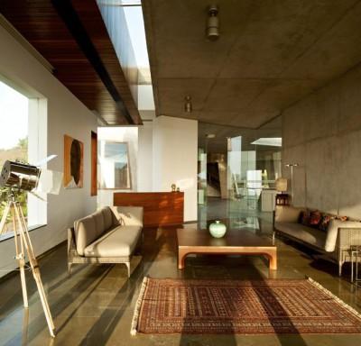 salon  - Alibaug-House par Malik Architecture - Maharashtra, Inde