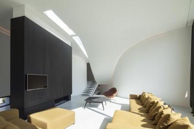salon - Villa-MQ  par Office O architects - Belgique