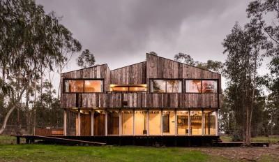 Cabana-Tunquen par DX Arquitectos - Valparaiso, Chili