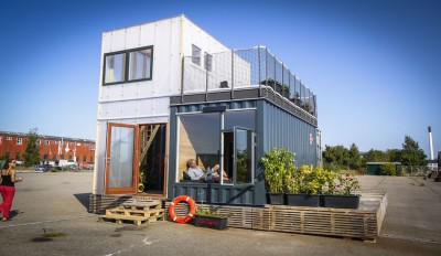 Container-Home par Copenhagen Container Copenhague, Danemark